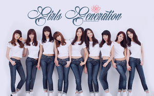 Girls Generation Wallpaper - First version by edinaholmes