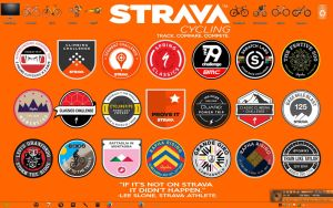 STRAVA CHALLENGE BADGES WALLPAPER by Danielhega