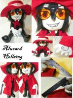 Alucard - Hellsing Plush Collage by mihijime