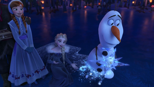 Disney olaf frozen adventure elsa and anna outfit by blueappleheart89 on deviantart - Olaf s frozen adventure download ...