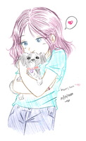 Puppy Love by yanagi-san