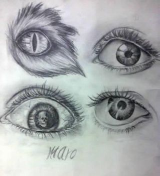 eyes by Marohossam
