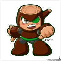 WoodMan Powered Up by Ageman20XX