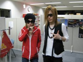 Ruki n Uru without makeup by TheGazettEsgirl