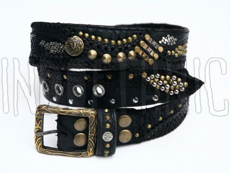 Leather Belt by BrendaWilson01