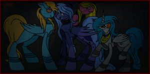 Five Night at Freddy's Family [ Final Drawing ] by Sweet-Moonie
