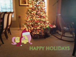 Happy Holidays From Filly Flutters by ShadyHorseman