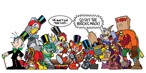 The 1st Annual Eggman/Robotnik Parade of Sidekicks by jongraywb