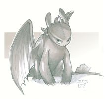 Toothless - HTTYD by MichaelCrichlow