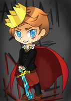 Chibi Mad King Ryan by noodlemonstah
