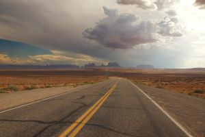 Road to Monument Valley by RollingFishays