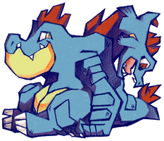 GATOR BROS by Hedrew