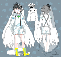 halloween tier -John the heir of ghost by Wayang1014