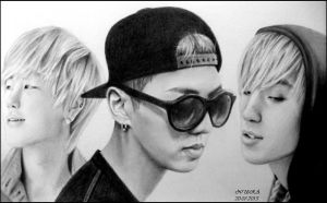 BAP Coffee Shop Drawing (Part 1) by diamondnura