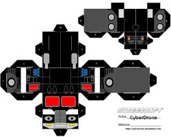 Cubee- Nemesis Prime 'Truck' by CyberDrone
