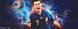 David Villa by Ghazwi-Mohamed
