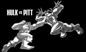hulk vs pitt by jinspikec