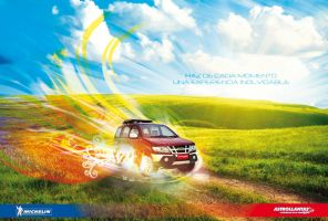 Isuzu Minivan Rainbow Wallpaper by kristinahetfield
