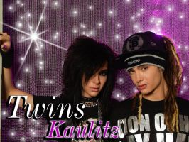 Pink Bill and Tom Kaulitz WP by VilleVamp
