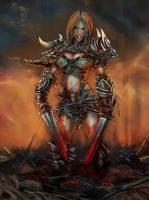 Barbarian Chick by Nith47