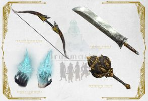Brahmastra weapons concept by macarious