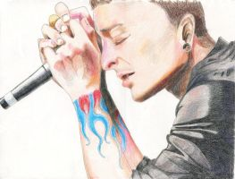 Chester Bennington- finished by Kelly-ART