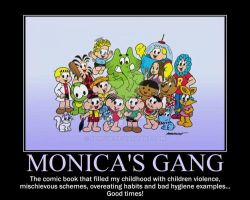 Motivation - Monica's Gang by Songue
