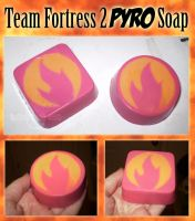 TF2 RED Pyro Soap by KingGiantess