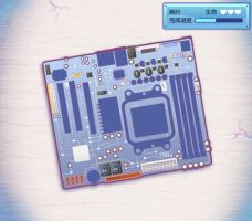AMD mainboard-patching game 01 by jongart