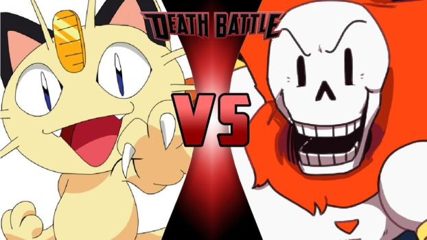 Meowth vs. Papyrus by OmnicidalClown1992