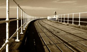 A walkway to the horizon by BikeBoyPunk