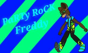 Party Rock Freddy by wingblackpaw
