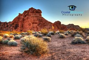 Valley of Fire I by Crystalsm