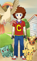 Caleb's Pokemon Adventure by JewFro29