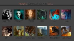 Summary of Art - 2012 by iZonbi