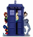 When Dr Who met The X-Men by FabFelipe
