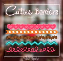 Cuties Borders Png's by silly-luv