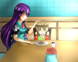 CLAC LIAM: don't crying and eat ratatouille! by hamu2