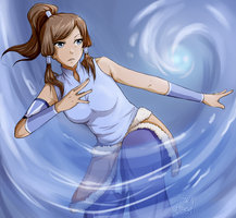 LoK: Waterbending by Artifedex