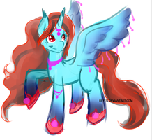 Joke OC Alicorn - Princess Star Sparkle by Lifyen