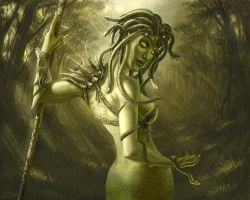 Gorgon by TamplierPainter