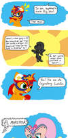 Sunset Shimmer: The Element of LUCHA #4 by FicFicPonyFic