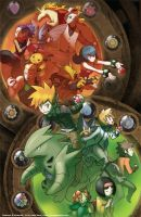Kanto League Gym Leaders