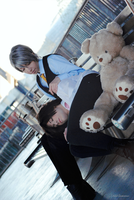 Misaki And Usagi Cosplay - Never Let Me Go by DakunCosplay