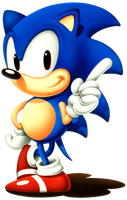Sonic The Hedgehog #18 by VideoGameCutOuts