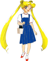 Sailor Moon As Dorothy Gale by darthraner83