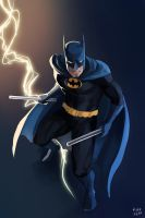 BATMAN OF NEW EARTH by kiraoka
