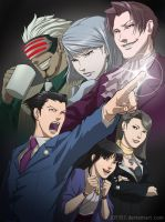 Phoenix Wright: Ace Attorney by JDY357