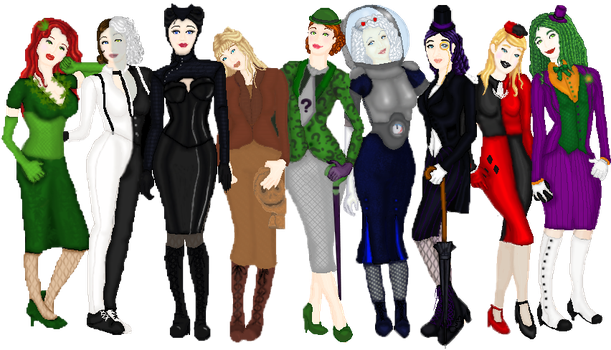 Gotham City during the 1920's by Queenofhrts87