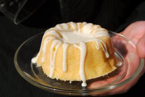 Mini Lemon Bundt Cake by PirateLotus-Stock
